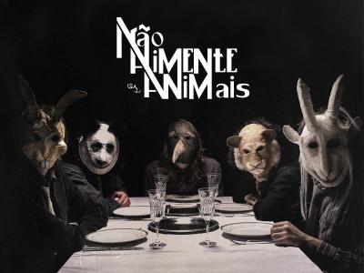 Primeiro disco em vinil da Não Alimente os Animais!